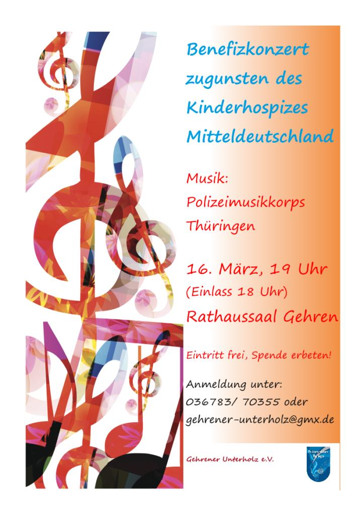 Konzert des Polizeimusikkorps am 16.03.2019